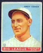 Goudey 1933 Baseball Card Values Part I