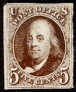 5 Cents Per Half Ounce For Up To 300 Miles And The 10 Cent George Washington Which Paid Domestic Letter Rate Of