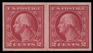 1914 Rotary Single Line Watermark Imperforate