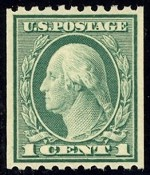 United States Stamp Values 1916 1917 Regular Issues