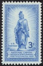 United States Stamp Values 1950 1953 Commemoratives
